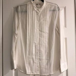 Thomas Mason for JCrew white shirt size 8